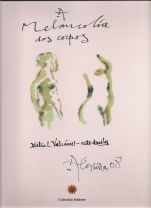 Capa do libro A melancolía dos corpos, de Xulio L. Valcárcel