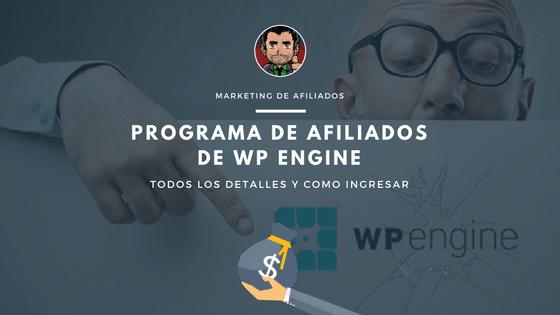 programa de afiliados wpengine