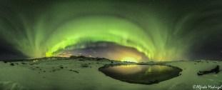 Watching the auroras