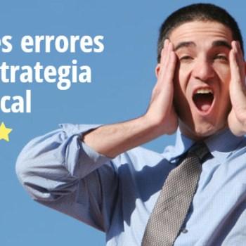 Errores en una estrategia de SEO Local