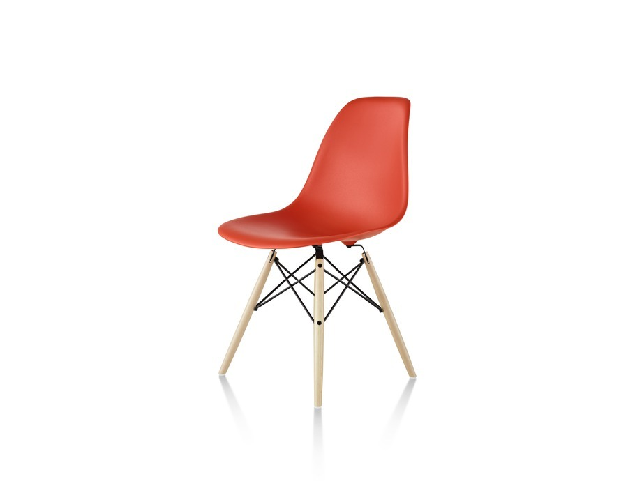 eames bucket chair fabric high molded plastic chairs alfred williams company