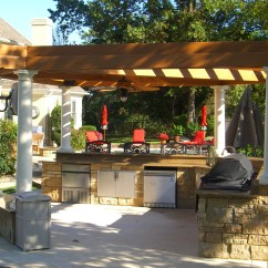 Outdoor Kitchen Pics Unfinished Wood Cabinets Pergolas Tejaban On Pinterest Covered Patios