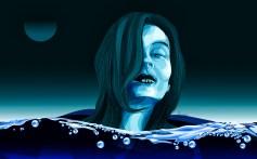 """""""Into the deep blue"""" by Alf Sukatmo. Vector artwork."""