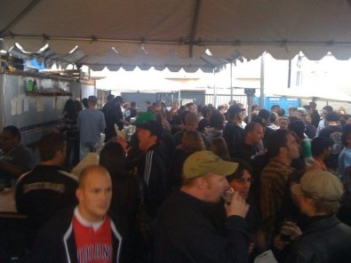 Crowd shot at the Strong Ale Festival