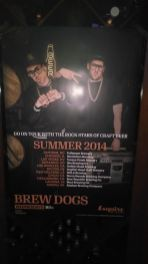 In case you were curious about where Brew Dogs will be going next, I ran across this poster