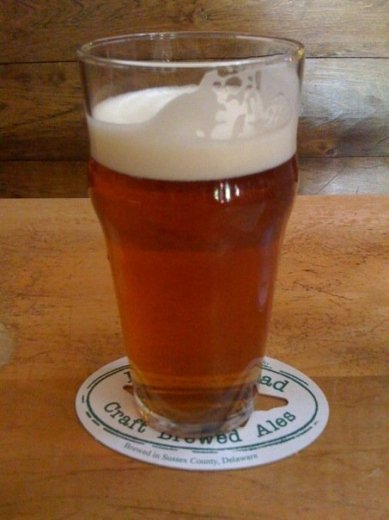75 Minute IPA...only available at DFH's Rehoboth Beach brewpub