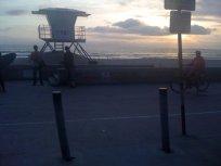 Lifeguard shack on Mission Beach