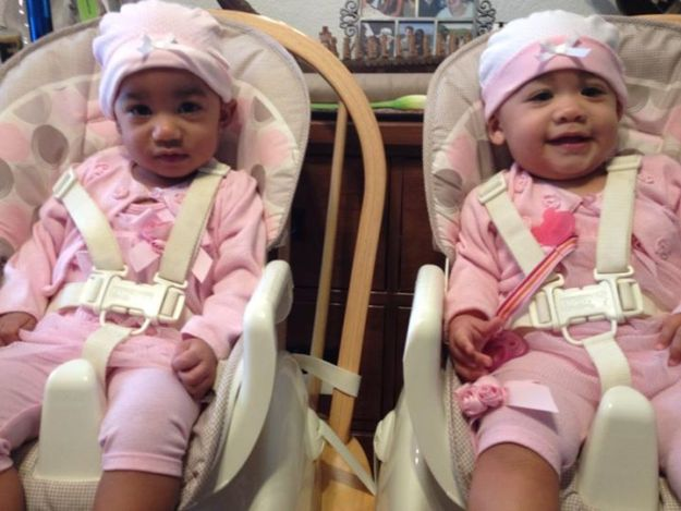 Can't believe Zoe & Naomi are 10 months old today! I love these little girls so much!