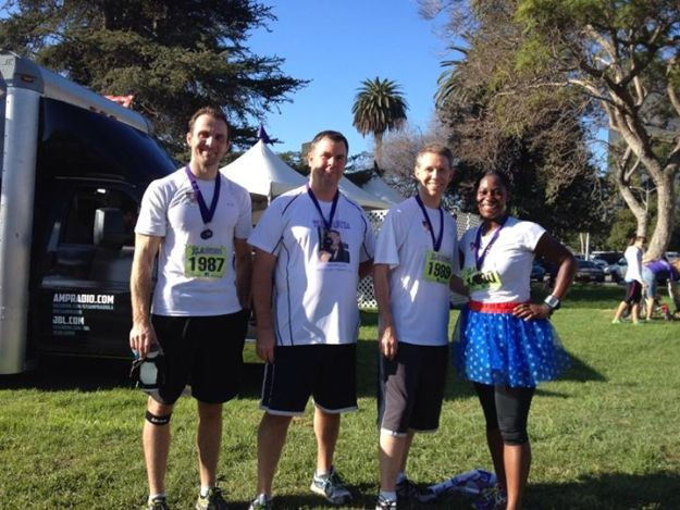 Team Tabi rocked the LA Cancer Challenge this morning. Thank you all for the support!