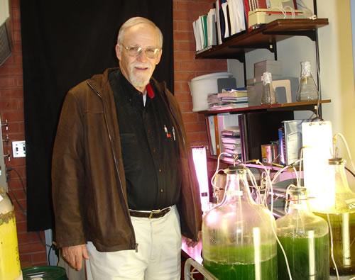 Algae Color the Future Green Dedicated to Mike-Cusanovich-1942-2010
