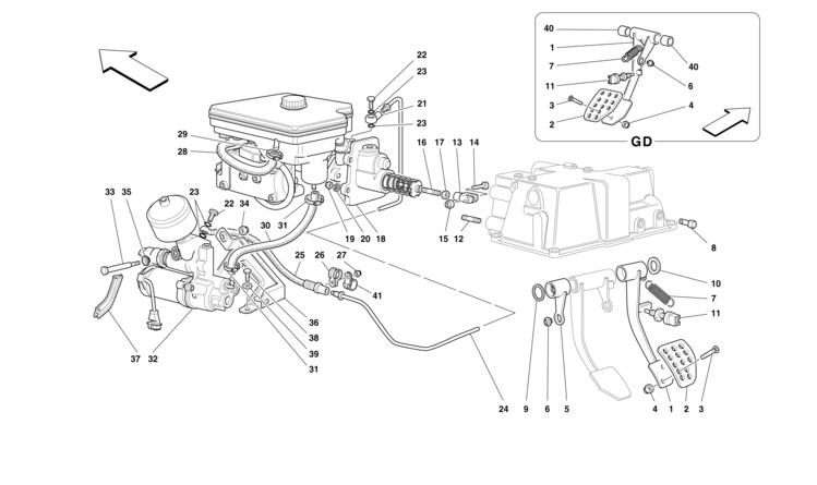 Algar Ferrari Parts : F355 (M2.7) : Part Number 148977
