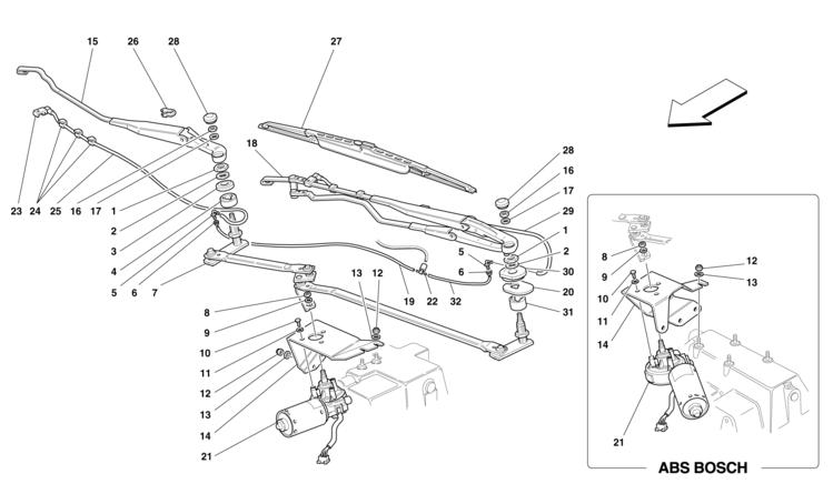 Algar Ferrari Parts : F355 (M5.2) & 355 F1 : Part Number
