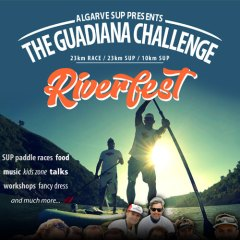 Guadiana Challenge logo and poster