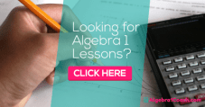 Free Algebra 1 Lessons