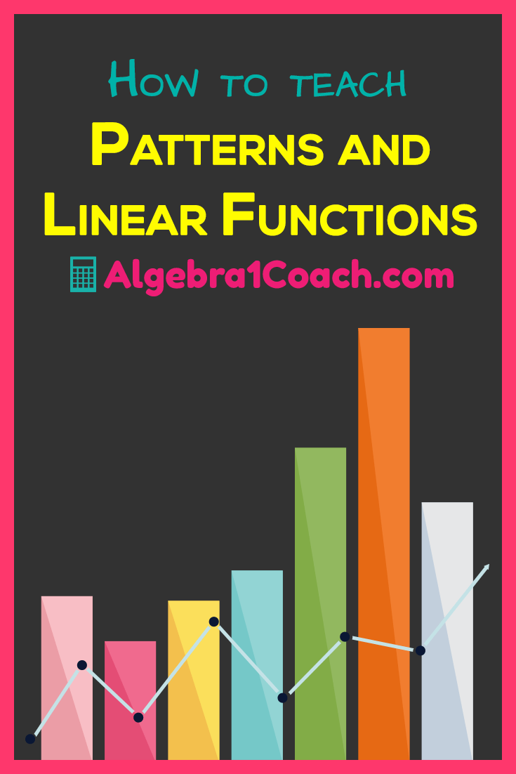 How to teach patterns and linear functions
