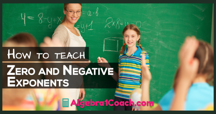 How to Teach Zero and Negative Numbers - Algebra 1