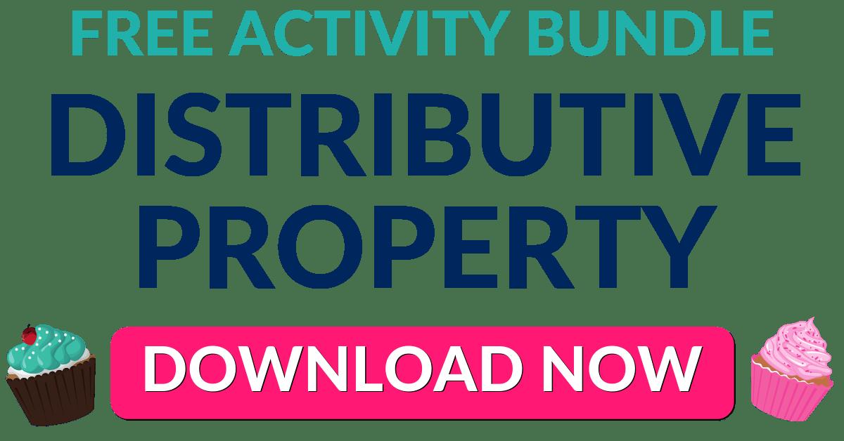 FREE Distributive Property Activity Bundle