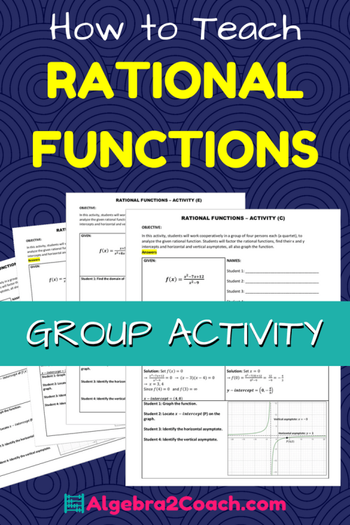 small resolution of Rational Functions and Their Graphs - Activity - Algebra2Coach.com