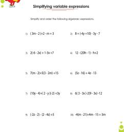 Adding and subtracting polynomials worksheets with answers [ 1100 x 850 Pixel ]