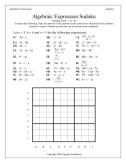 Algebra 1 Christmas Activity & Worksheets | Teachers Pay