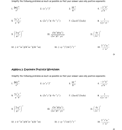 Hard Exponents Worksheets With Answers   Printable Worksheets and  Activities for Teachers [ 1651 x 1275 Pixel ]