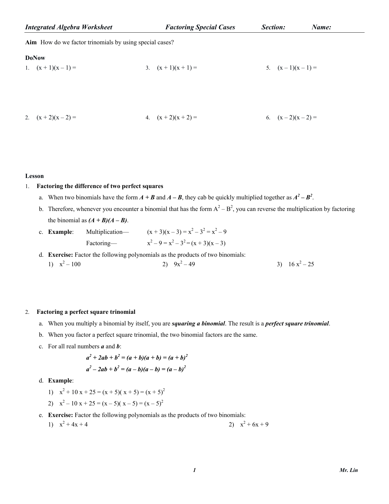 hight resolution of Worksheet B2 Permutations Answers   Printable Worksheets and Activities for  Teachers