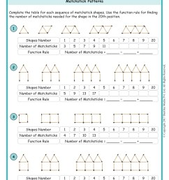6th Algebra Worksheets   Printable Worksheets and Activities for Teachers [ 2339 x 1654 Pixel ]