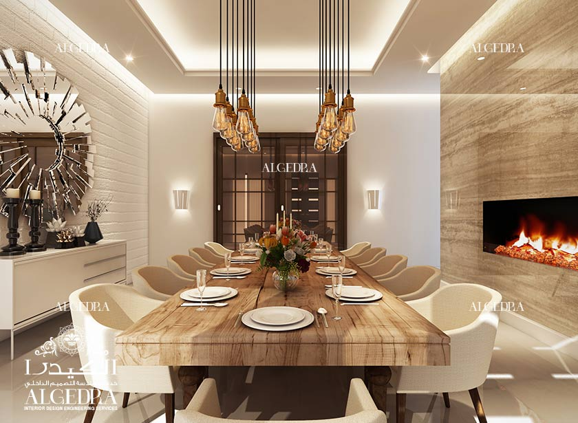 Dining Room Interior Design By Algedra
