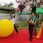 八幡山公園祭りで行われた大道芸イベントでハッピーメリーサーカスが大人気!サーカスショーをイベントに呼ぶメリットとは?