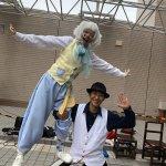 アルカキット錦糸町のサーカスショー! 錦糸町駅北口で行われている大道芸イベント