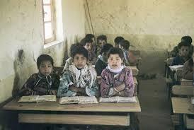 image classique des écoles rurales, multipliées au sein des SAS