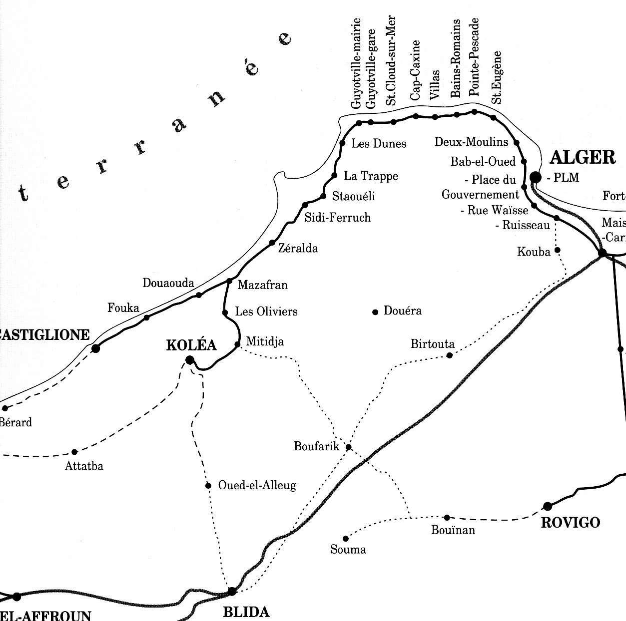 Carte Zeralda Algerie.Ferme Agricole Zeralda