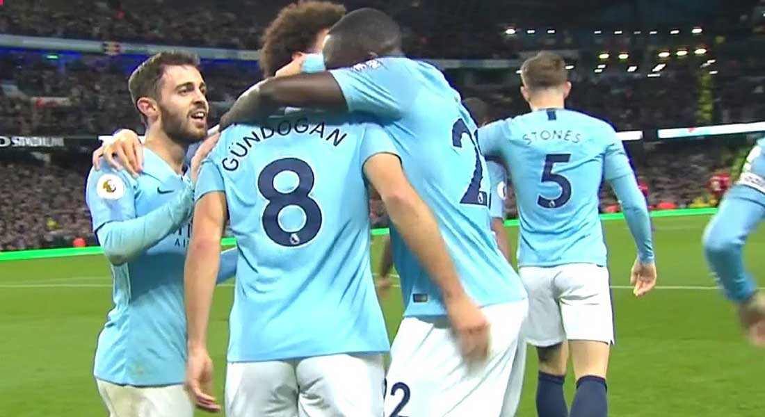 Angleterre : Manchester City 4 – Liverpool 0