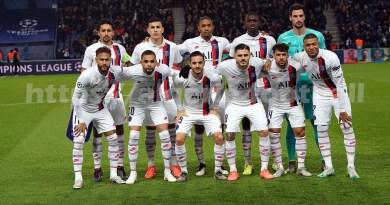 PSG photo d'équipe