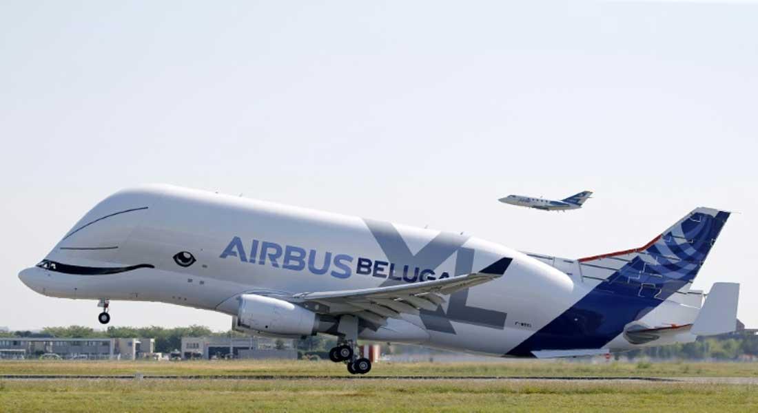 Aviation civile : Premier vol du Beluga XL ( avio baleine) , le géant de la famille Airbus