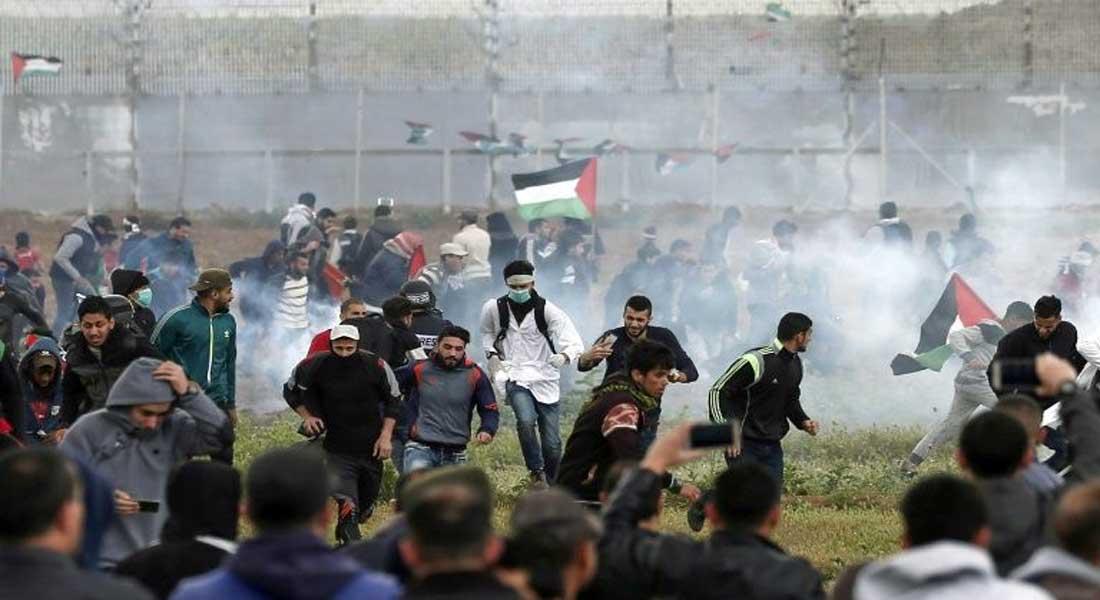 Gaza: manifestations à la frontière avec Israël, quatre morts palestiniens