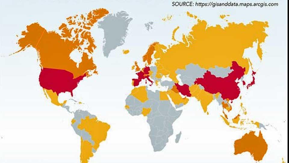 Coronavirus : 32000 nouveaux cas en Italie et 13000 en Espagne en 24h