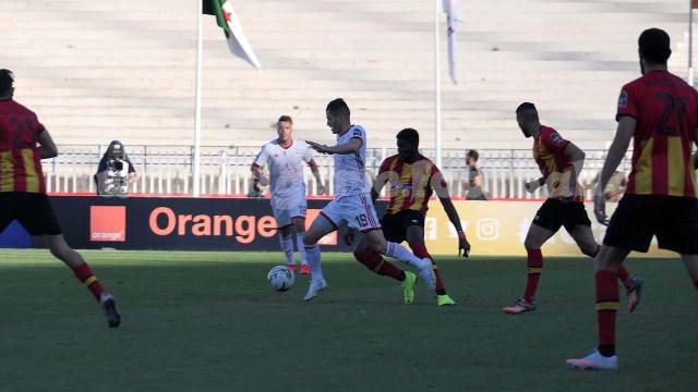 Ligue des Champions ( 1/4)  : CRBelouizdad 2 – ESTunis 0