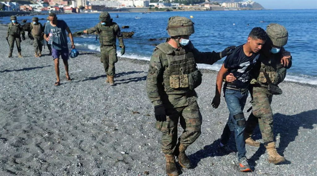 Ceuta migrants
