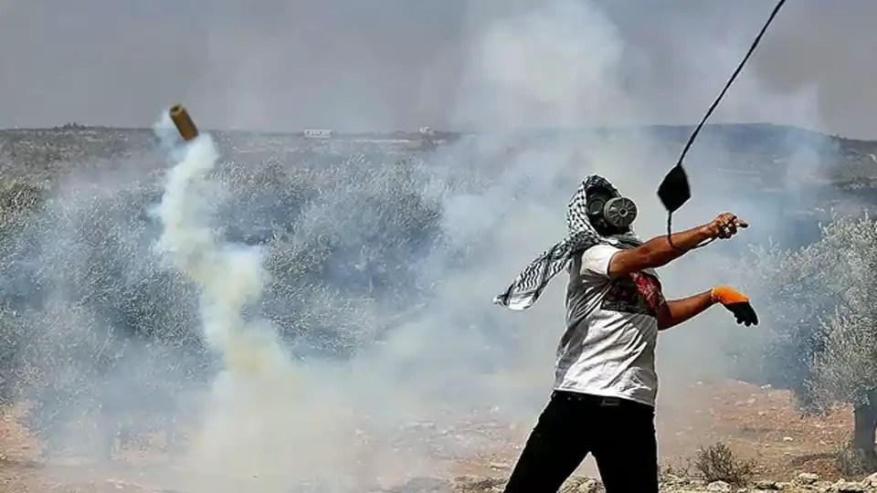palestiniens blesses