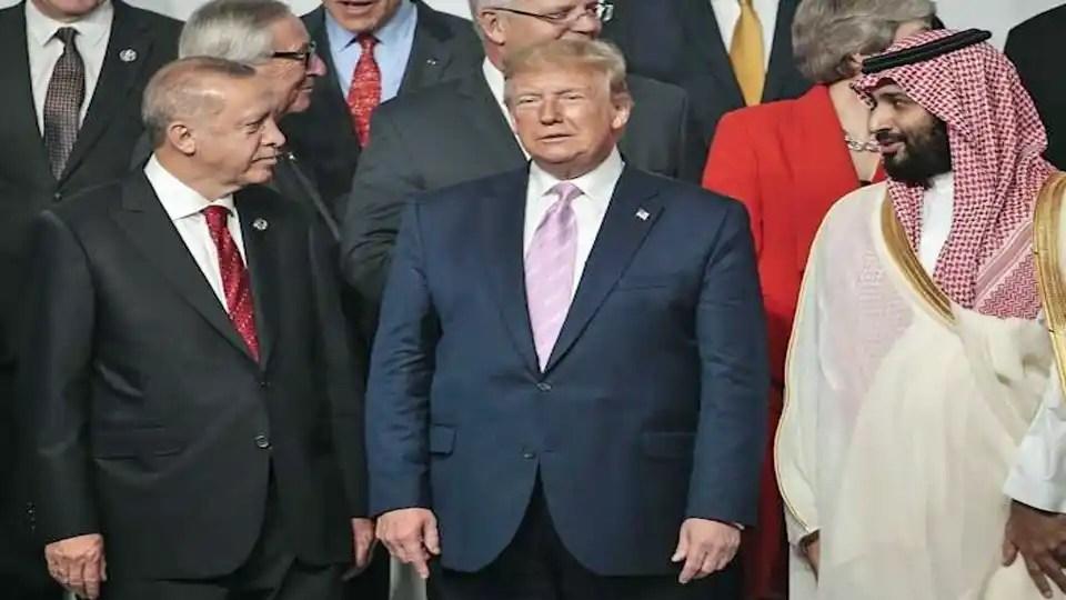 Erdogan Trump MBS