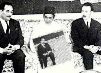 HassanII et Houari Boumediene