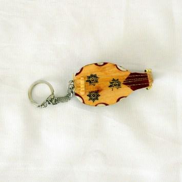 porte clefs luth