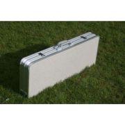 Table portable de pique-nique en aluminium avec 4 chaises
