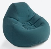 Pouf gonflable vert
