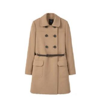 Manteau Mango Beige avec ceinture