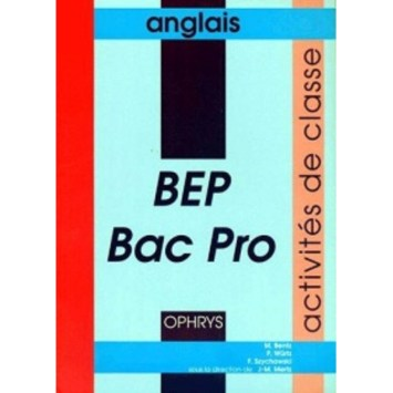 Anglais bep bac pro activités de classe gf