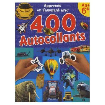 Apprends En T'amusant Avec 400 Autocollants - Age 6+