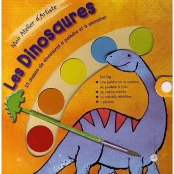 Mon atelier d'artiste : Les dinosaures