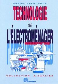 technologie de l'electromenager lavage cuisson froid